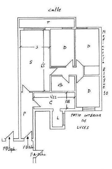 Piso en venta en Puebla Aida, Mijas, Málaga, Calle San Victor, 79.000 €, 3 habitaciones, 1 baño, 88 m2