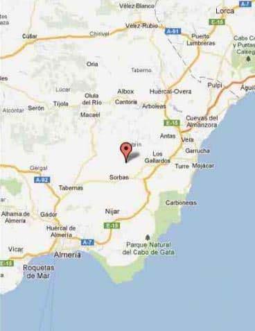 Suelo en venta en Suelo en Sorbas, Almería, 30.200 €, 12500 m2