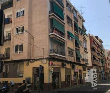 Piso en venta en Carolinas Bajas, Alicante/alacant, Alicante, Calle General Espartero, 54.000 €, 3 habitaciones, 1 baño, 90 m2