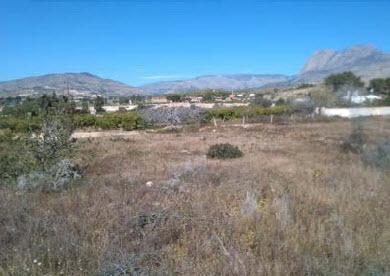 Suelo en venta en Torres, la Villajoyosa/vila, Alicante, Calle Talades, 529.000 €, 3224 m2