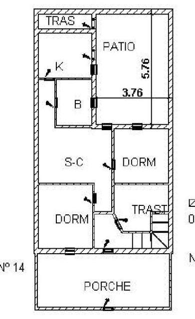 Casa en venta en La Unión, la Unión, Murcia, Avenida Cristo de los Mineros, 102.000 €, 5 habitaciones, 2 baños, 148 m2