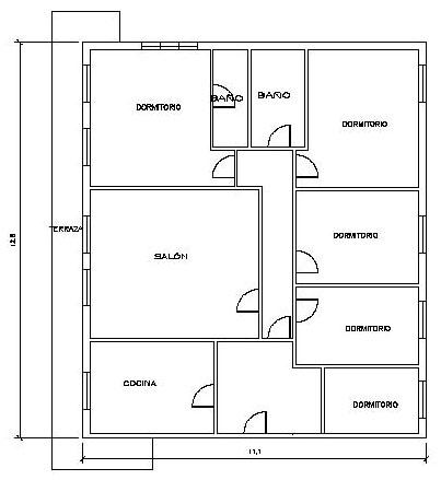 Piso en venta en Cartes, Cartes, Cantabria, Calle Resolores, 98.000 €, 6 habitaciones, 1 baño, 154 m2