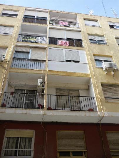 Piso en venta en Elda, Alicante, Calle Cura Abad, 10.582 €, 3 habitaciones, 1 baño, 71 m2