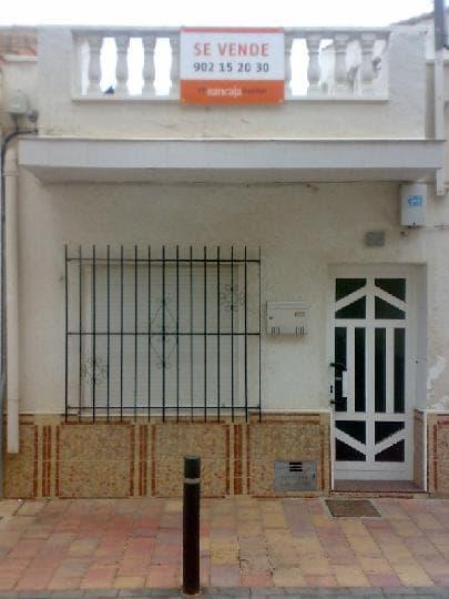 Casa en venta en La Grajuela, San Javier, Murcia, Calle Miguel Zapata, 52.945 €, 4 habitaciones, 2 baños, 152 m2