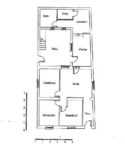 Casa en venta en Murcia, Murcia, Calle Viriato, 56.300 €, 3 habitaciones, 1 baño, 94 m2