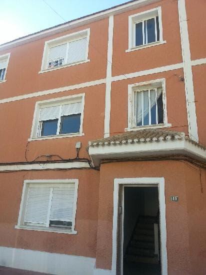 Piso en venta en Pedanía de Beniaján, San Javier, Murcia, Calle Aviación Española, 38.730 €, 3 habitaciones, 1 baño, 83 m2