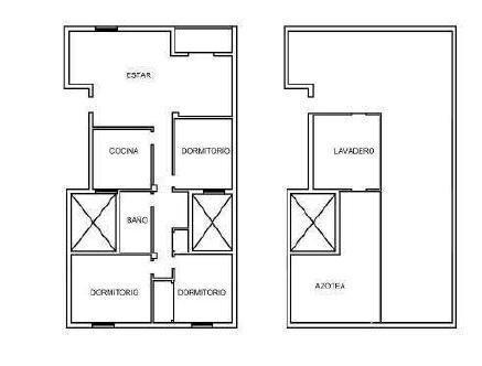 Piso en venta en Palo Blanco, los Realejos, Santa Cruz de Tenerife, Calle Reyes Catolicos, 84.500 €, 4 habitaciones, 1 baño, 114 m2