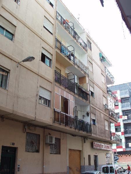 Piso en venta en Los Ángeles, Alicante/alacant, Alicante, Calle Capitan Fernando Ballenilla, 26.098 €, 2 habitaciones, 1 baño, 65 m2