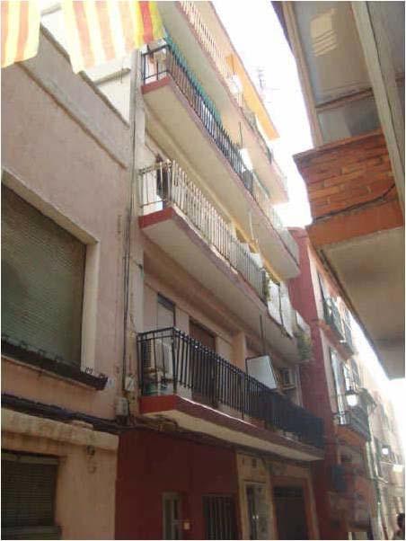 Piso en venta en Alzira, Valencia, Calle Blasco Ibañez, 47.500 €, 3 habitaciones, 2 baños, 119 m2