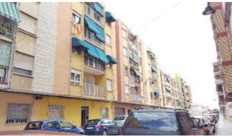 Piso en venta en Alquerieta, Alzira, Valencia, Calle Cardenal Vera, 45.000 €, 4 habitaciones, 1 baño, 89 m2