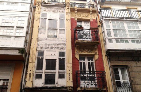 Piso en venta en Pescadería, A Coruña, A Coruña, Calle Orzan, 142.090 €, 2 habitaciones, 1 baño, 76 m2