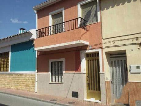 Casa en venta en Salinas, Alicante, Calle Horno del Vidrio, 69.500 €, 2 habitaciones, 1 baño, 148 m2