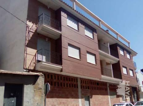 Piso en venta en El Cabezo, Bullas, Murcia, Avenida de Murcia, 66.300 €, 2 habitaciones, 2 baños, 74 m2