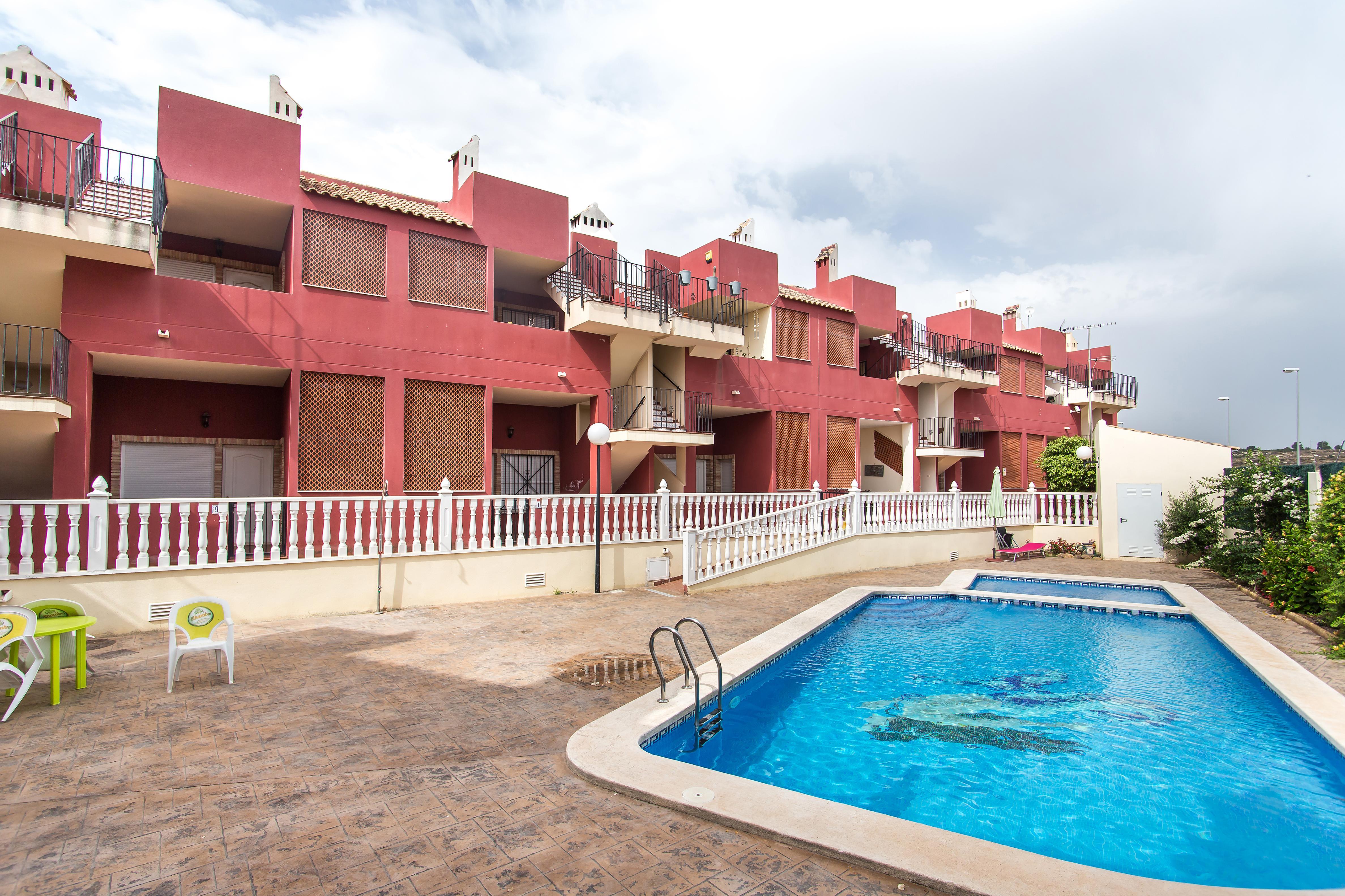 Piso en venta en Torremendo, Orihuela, Alicante, Urbanización El Mirador I, 48.000 €, 2 habitaciones, 2 baños, 71 m2