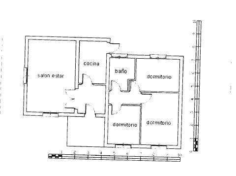 Casa en venta en Hormigos, Toledo, Calle Golondrina, 50.000 €, 3 habitaciones, 1 baño, 86 m2
