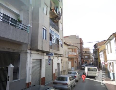 Piso en venta en Molina de Segura, Murcia, Calle San Esteban, 63.766 €, 5 habitaciones, 2 baños, 152 m2