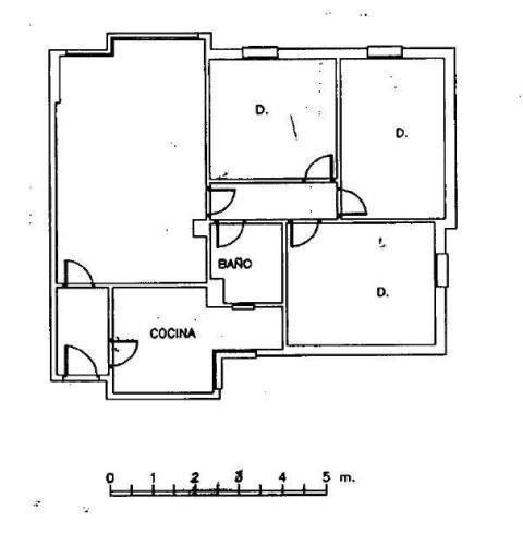 Piso en venta en Casco Antiguo, Sevilla, Sevilla, Calle Carmen Diaz, 65.400 €, 3 habitaciones, 1 baño, 83 m2