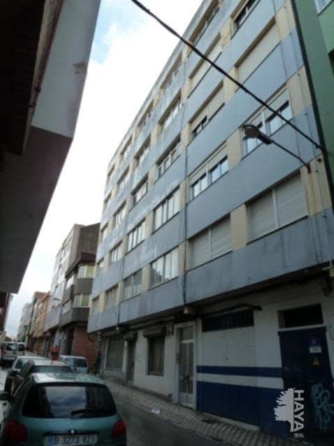 Piso en venta en A Gándara, Narón, A Coruña, Calle Mendez Nuñez, 21.700 €, 3 habitaciones, 1 baño, 60 m2