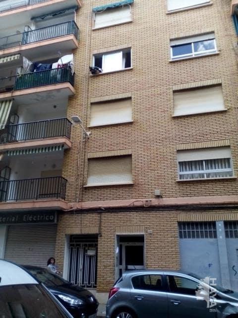 Piso en venta en Gandia, Valencia, Calle Pintor Sorolla, 42.700 €, 4 habitaciones, 1 baño, 109 m2