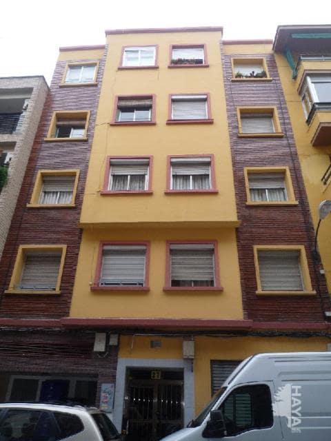 Piso en venta en Delicias, Zaragoza, Zaragoza, Calle Jordana, 55.600 €, 3 habitaciones, 1 baño, 58 m2