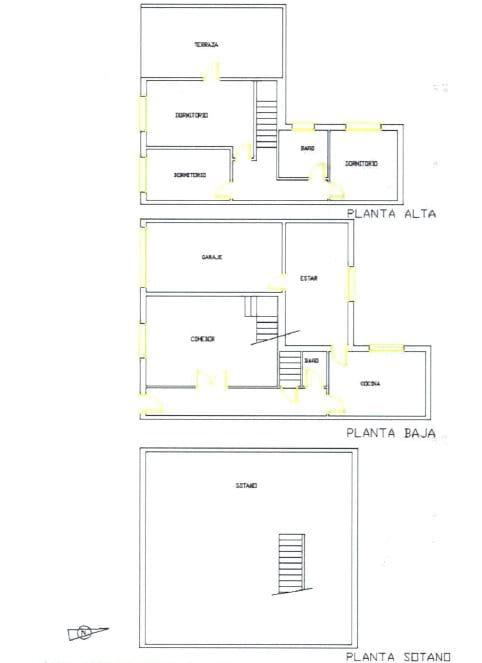 Casa en venta en Casa en Bullas, Murcia, 59.900 €, 3 habitaciones, 1 baño, 122 m2