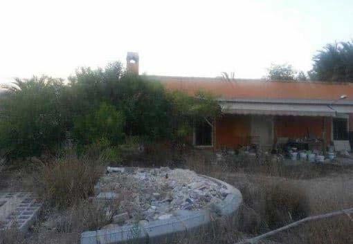 Casa en venta en Elche/elx, Alicante, Calle Motola, 141.800 €, 3 habitaciones, 1 baño, 288 m2