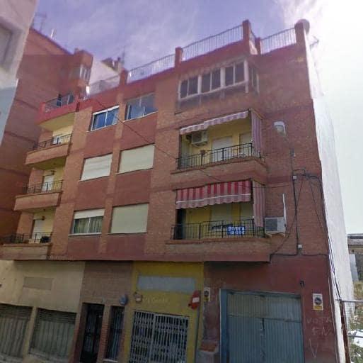 Piso en venta en Huércal-overa, Almería, Calle Monjas, 66.500 €, 3 habitaciones, 1 baño, 123 m2
