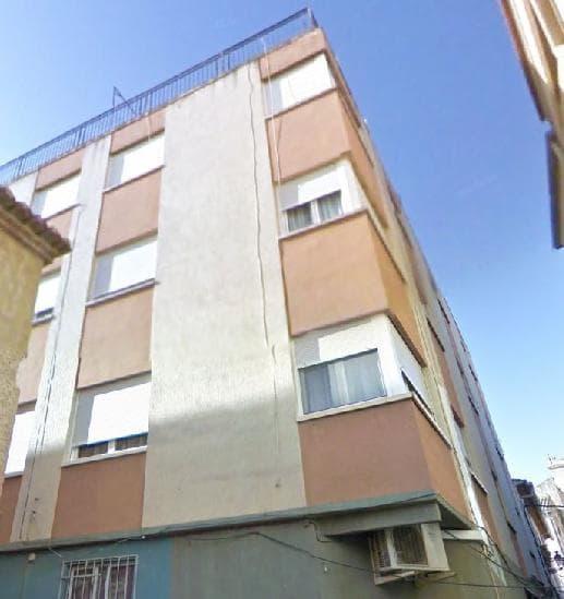 Piso en venta en Caudete, Albacete, Calle Antonio Conejero, 25.625 €, 4 habitaciones, 1 baño, 100 m2