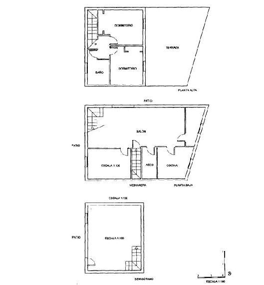 Casa en venta en Algeciras, Cádiz, Calle Isabel Pantoja, 97.300 €, 2 habitaciones, 2 baños, 177 m2