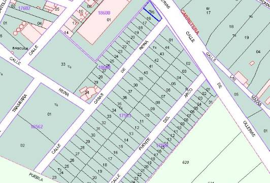 Suelo en venta en Llerena, Llerena, Badajoz, Calle Sector Ue-17, 15.100 €, 157 m2