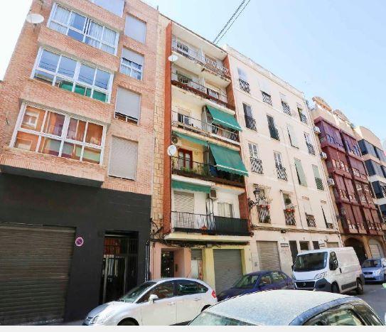 Piso en alquiler en Valencia, Valencia, Calle Villahermosa, 460 €, 3 habitaciones, 1 baño, 66 m2