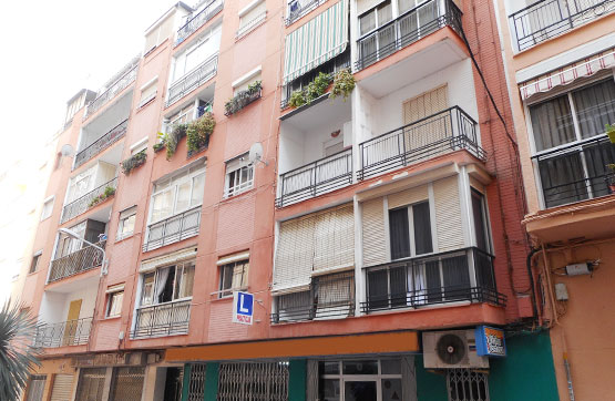 Piso en venta en Motril, Granada, Avenida de la Habana, 56.430 €, 3 habitaciones, 1 baño, 91 m2