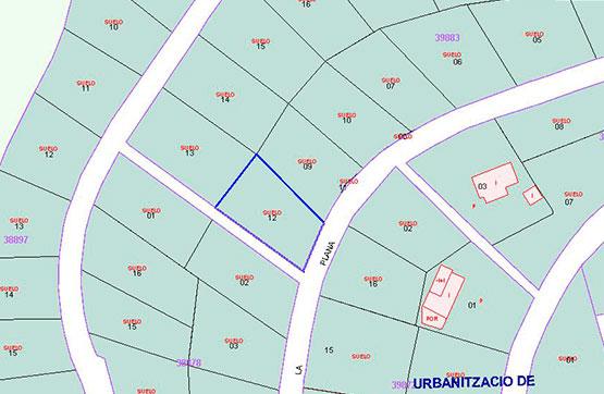 Suelo en venta en Masia de Lledonós, Àger, Lleida, Urbanización Fontdepou, 11.410 €, 617 m2