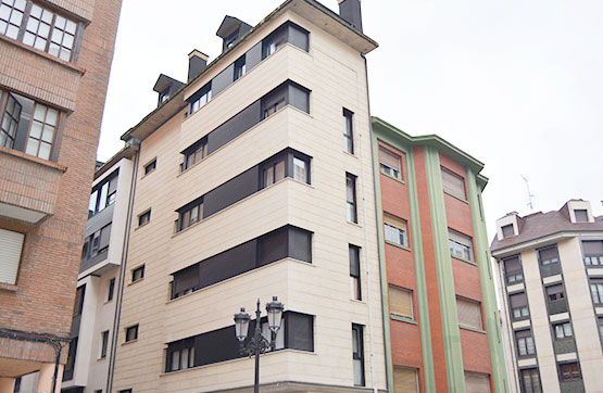 Piso en venta en El Cristo Y Buenavista, Oviedo, Asturias, Pasaje Doctor Francisco Garcia Diaz, 75.500 €, 1 habitación, 1 baño, 39 m2