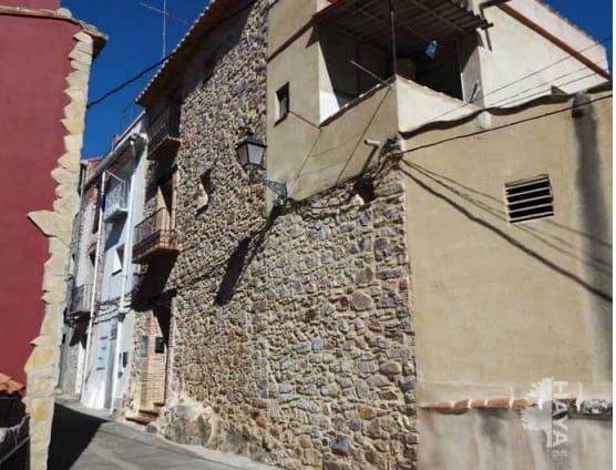 Casa en venta en Chóvar, Castellón, Calle Barranquito, 99.500 €, 4 habitaciones, 1 baño, 193 m2