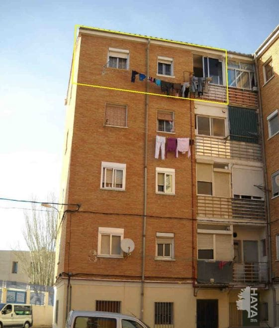 Piso en venta en El Pilar, Albacete, Albacete, Calle Churruca, 25.000 €, 1 habitación, 1 baño, 62 m2