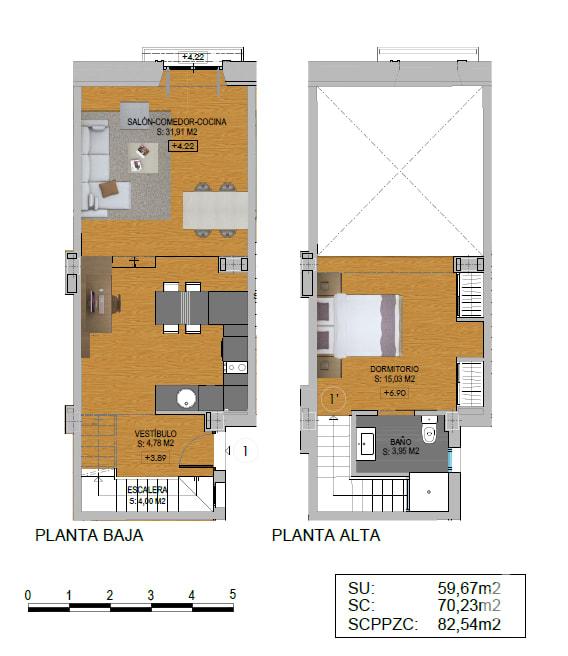 Piso en venta en Almería, Almería, Calle Mariana, 175.600 €, 1 habitación, 1 baño, 81 m2