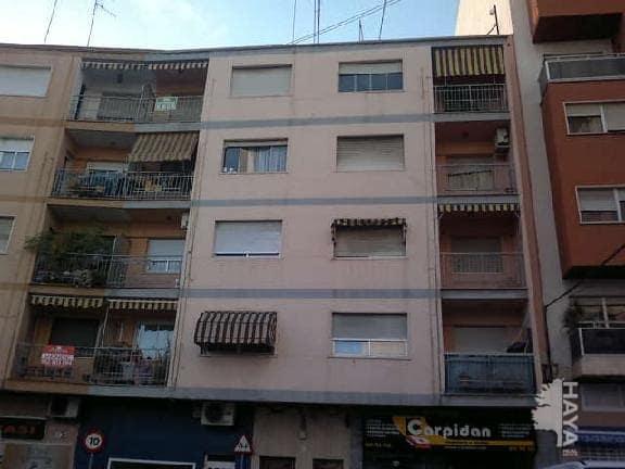 Piso en venta en Gandia, Valencia, Calle Peru, 47.000 €, 4 habitaciones, 1 baño, 104 m2