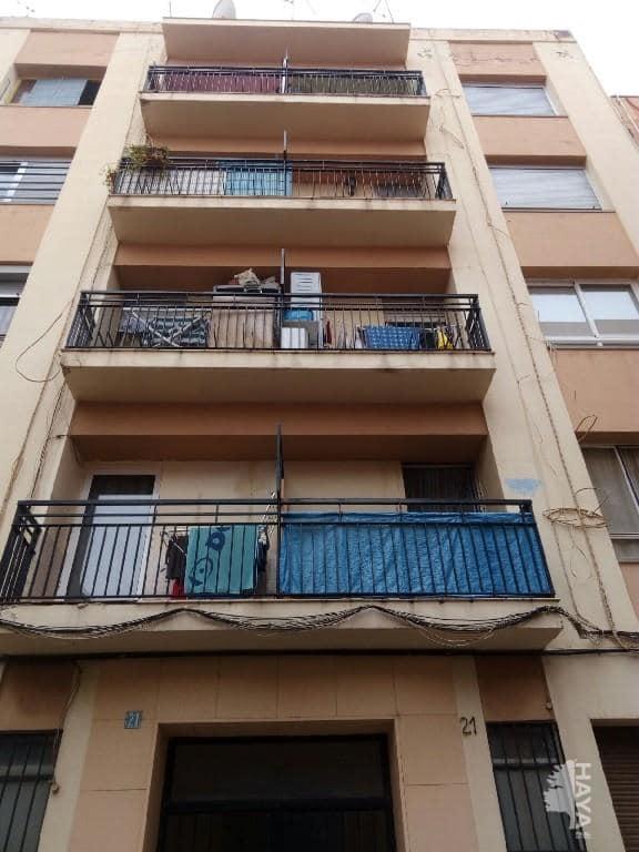 Piso en venta en Poblados Marítimos, Burriana, Castellón, Calle Vicente Cantos Figuerola, 25.600 €, 4 habitaciones, 1 baño, 86 m2