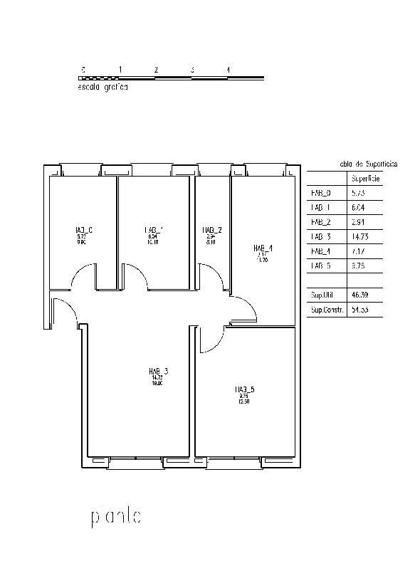 Piso en venta en Tarragona, Tarragona, Calle del Francoli, 36.254 €, 3 habitaciones, 1 baño, 67 m2