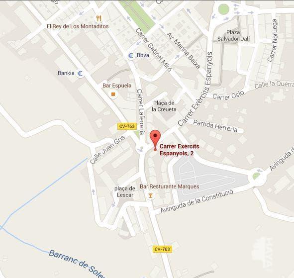 Piso en venta en L` Alfàs del Pi, Alicante, Avenida de los Ejércitos Españoles, 90.000 €, 3 habitaciones, 1 baño, 77 m2