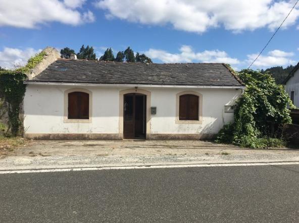 Casa en venta en Esquibien, Narón, A Coruña, Lugar Vista Alegre, 65.000 €, 5 habitaciones, 1 baño, 140 m2