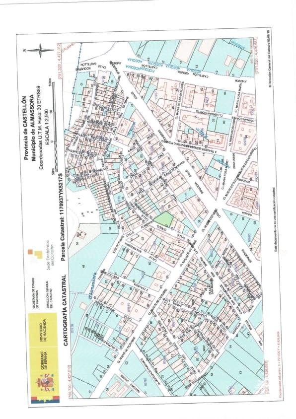 Piso en venta en Almazora/almassora, Castellón, Calle Corell, 123.800 €, 2 baños, 578 m2