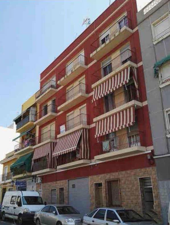 Piso en venta en Alicante/alacant, Alicante, Calle Vicente Aleixandre, 50.400 €, 2 habitaciones, 1 baño, 58 m2