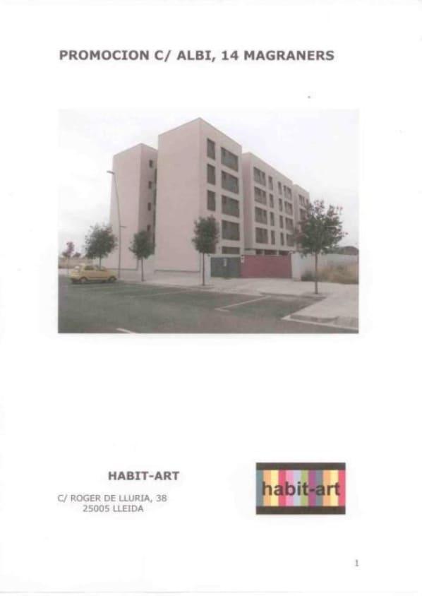 Piso en venta en Els Magraners, Lleida, Lleida, Calle Lalbi, 70.000 €, 2 habitaciones, 1 baño, 62 m2