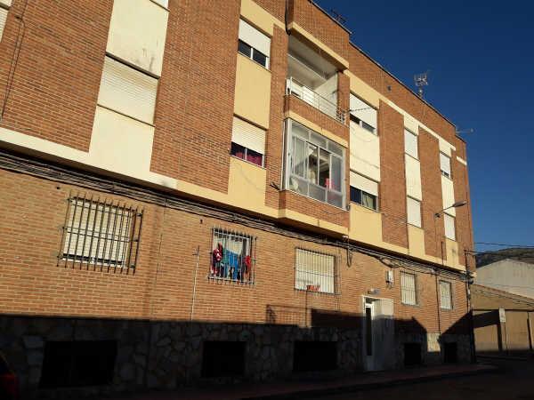 Piso en venta en Las Barracas, Alhama de Murcia, Murcia, Calle Camilo José Cela, 55.058 €, 3 habitaciones, 1 baño, 104 m2