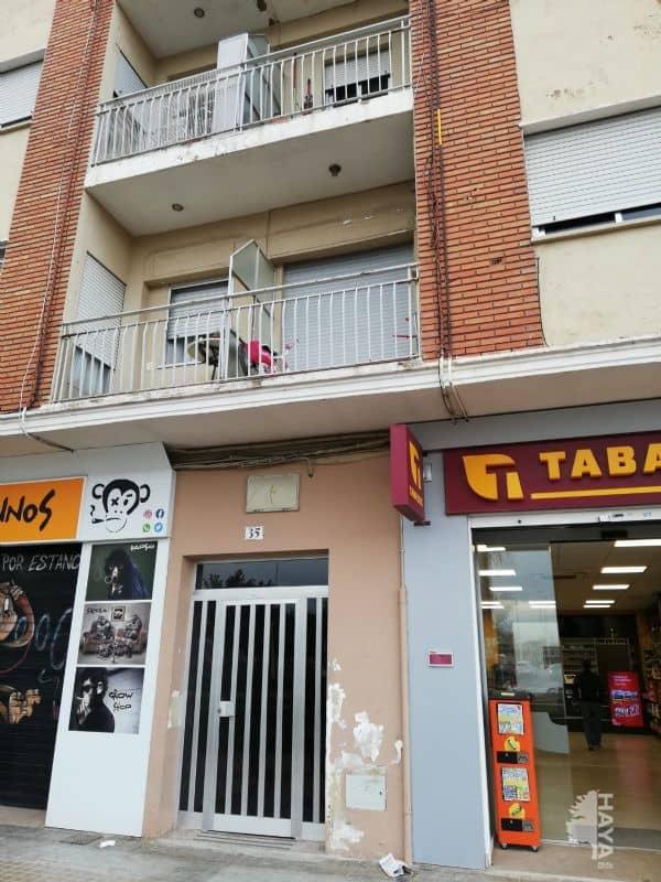 Piso en venta en Sagunto/sagunt, Valencia, Avenida Sants de la Pedra, 35.772 €, 3 habitaciones, 1 baño, 89 m2