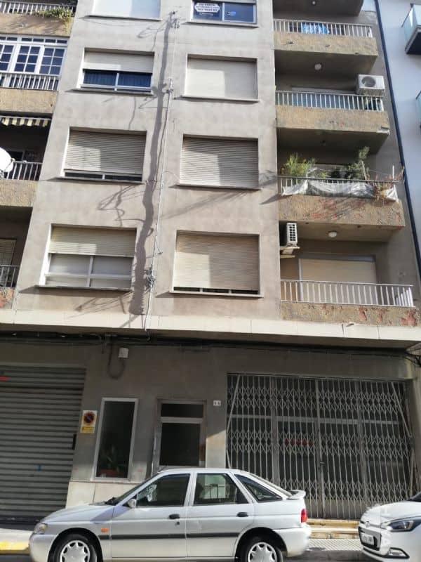 Piso en venta en Gandia, Valencia, Calle Miramar, 61.981 €, 4 habitaciones, 1 baño, 136 m2