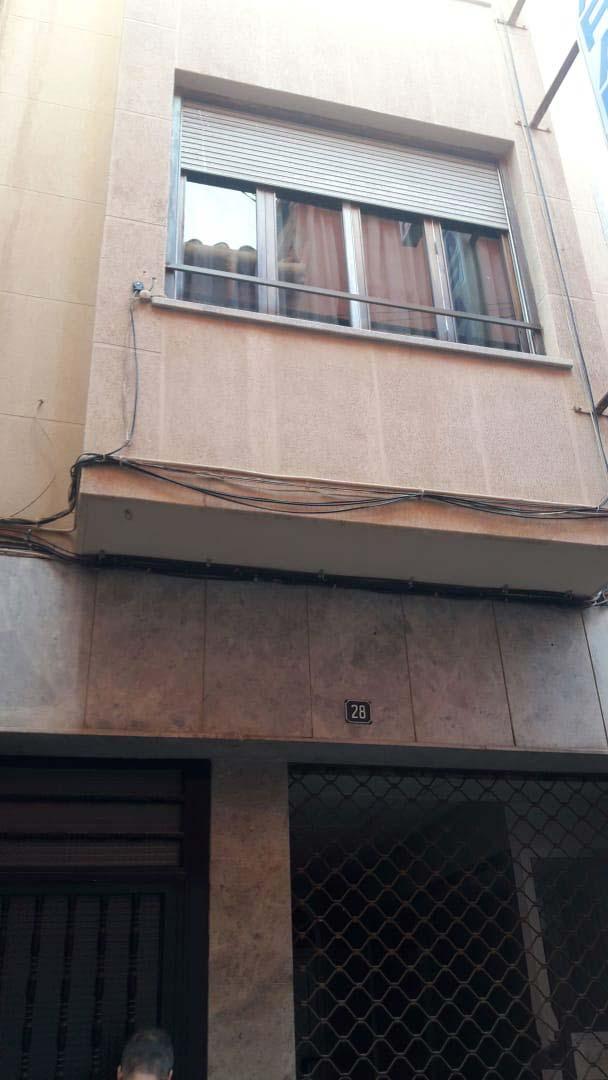 Piso en venta en Vila-real, Castellón, Calle Sant Antoni, 75.600 €, 3 habitaciones, 1 baño, 124 m2