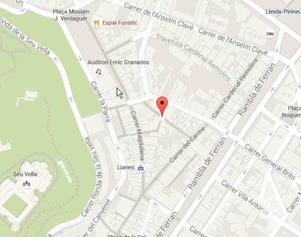 Piso en venta en Rambla de Ferran - Estació, Lleida, Lleida, Travesía Carme, 71.500 €, 2 habitaciones, 1 baño, 44 m2